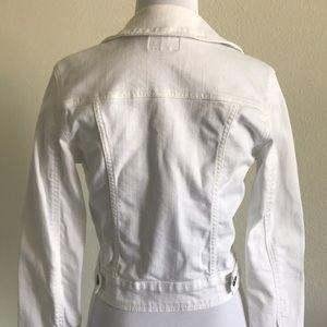 Just USA Jackets & Coats - White Denim Jacket Small
